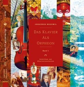 """Frontcover Buch: """"Das Klavier als Orpheon"""""""